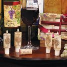 Wine Cork Candles w/ Merlot Scent Wine Gift Set by Wine Country
