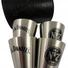 Jack Daniels Stainless Steel Shot Glass Travel Set