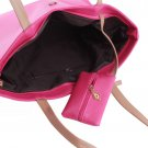 Women PU Leather Tote Shoulder Bags Hobo Handbags Satchel Messenger bag Purse H9