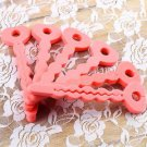 6 x Sponge Hair Rollers Magic SOFT twisty BENDY Curly Foam Curler Party #~