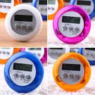 New Cute Mini Round LCD Digital Cooking Home Kitchen Countdown UP Timer Alarm HS