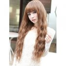 Beauty Fashion Womens Lady Long Curly Wavy Hair Full Wigs Cosplay Party HS
