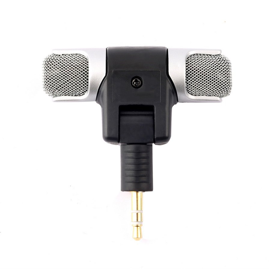 1pc New Mini Stereo Microphone Mic 3.5mm Mini Jack PC Laptop Notebook HP