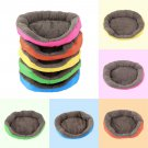 5 Colors Soft Pet Dog Puppy Cat Cozy Warm Nest Bed House with Plush Mat Pad #!