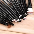 20 pcs Professional Makeup Beauty Cosmetic Blush Black Brushes Kits #G
