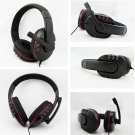 Wired 3.5mm Headset Headphone Earphone Music Microphone For PS4 Game PC Chat #A