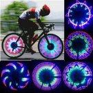 32 LED Patterns Cycling Bikes Bicycles Rainbow Wheel Signal Tire Spoke Light H5