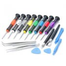 16 in 1 Repair Tools Screwdrivers Set For iPhone 5 iPad Mobile Phone 2408A @*