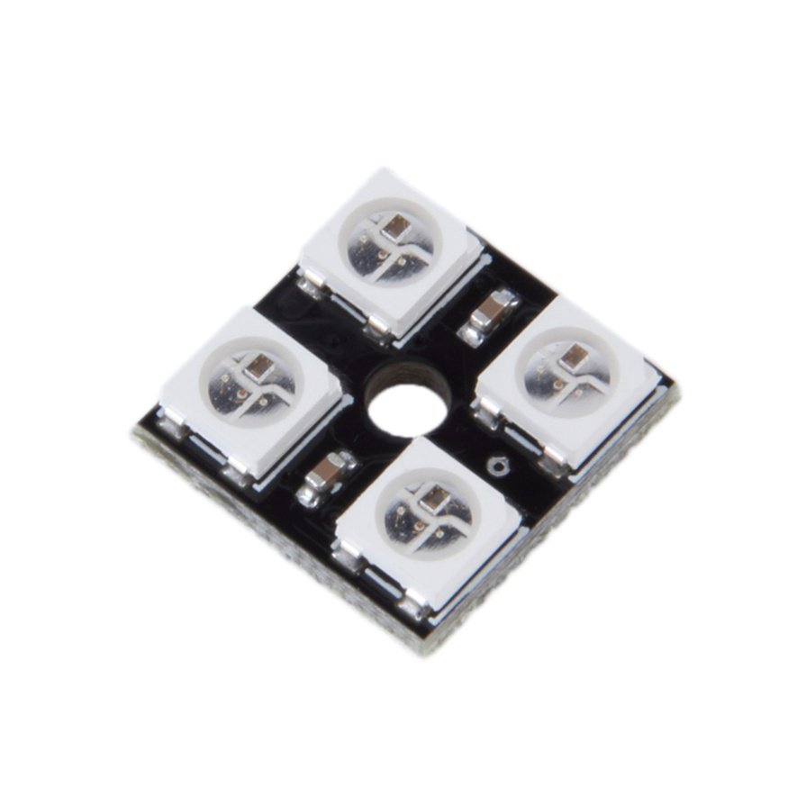 New WS2812B-4 5V 5050 RGB LED Lamp Panel Board 4-Bit Precise For Arduino #R