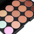 New15 Colors Pro Face Cream and Makeup Tool and Eyeliner Brushes  HS