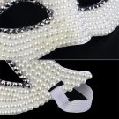 Lady White Eye Mask Masquerade Halloween Party Fancy Dress Costume Mask H5