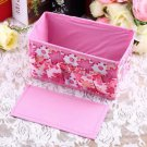 Folding Multifunction Make Up Cosmetic Storage Box Container Bag Case Fashion H5