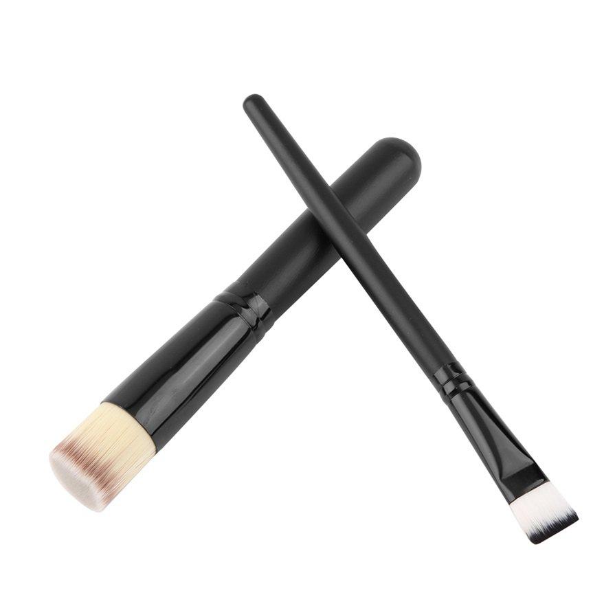 8pcs Soft Brushes Set Cosmetic Blending Eyeshadow Foundation Makeup Brushes H5