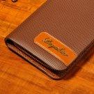 New Men PU Leather Card Cash Receipt Holder Organizer Wallet Purse Excellent HH
