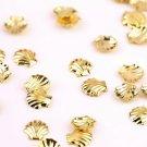 100pcs Mini Alloy Metal Shell Design Nail Art Tip Stud Decoration Stickers DIYHS