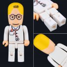Funny Cute 8GB Doctor Model USB 2.0 Memory Flash Stick Pen Drive Gift New #B