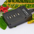 New Hot Portable 4USB Digital Charger  Multifunction Fast Charging Charger H5