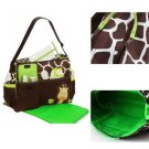 Carter Multi Function Baby Diaper Nappy Bag Giraffe Print Lovely Durable #A