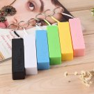 Mobile Power Case Box USB 18650 Battery Cover KeyChain for iPhone Samsung MP3 #~
