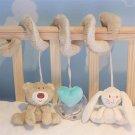 New Baby Kids Soft Plush Toy Animal Rattles Bed Crib Developmental Toy #J