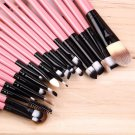 Professional New set of 20 pieces brushes pack complete make-up brushes #J