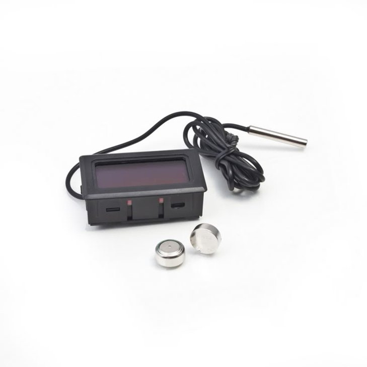-50~110°C BlackDigital LCD Thermometer for Refrigerator Freezer Temperature  HS