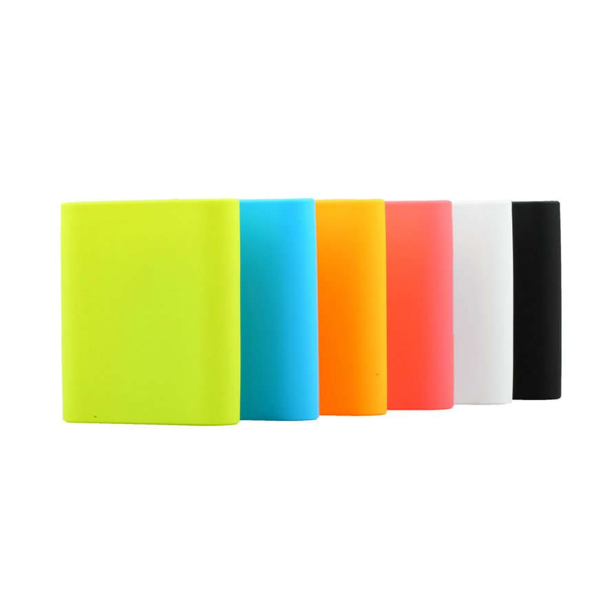 Soft Silicone Protective Case for Xiaomi 10400mAh Power Bank Portable Charger #!