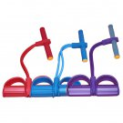 Fitness Exercise Feet Pedal Puttee Pull Rope Elastic Yoga Slim Lose Weight #W