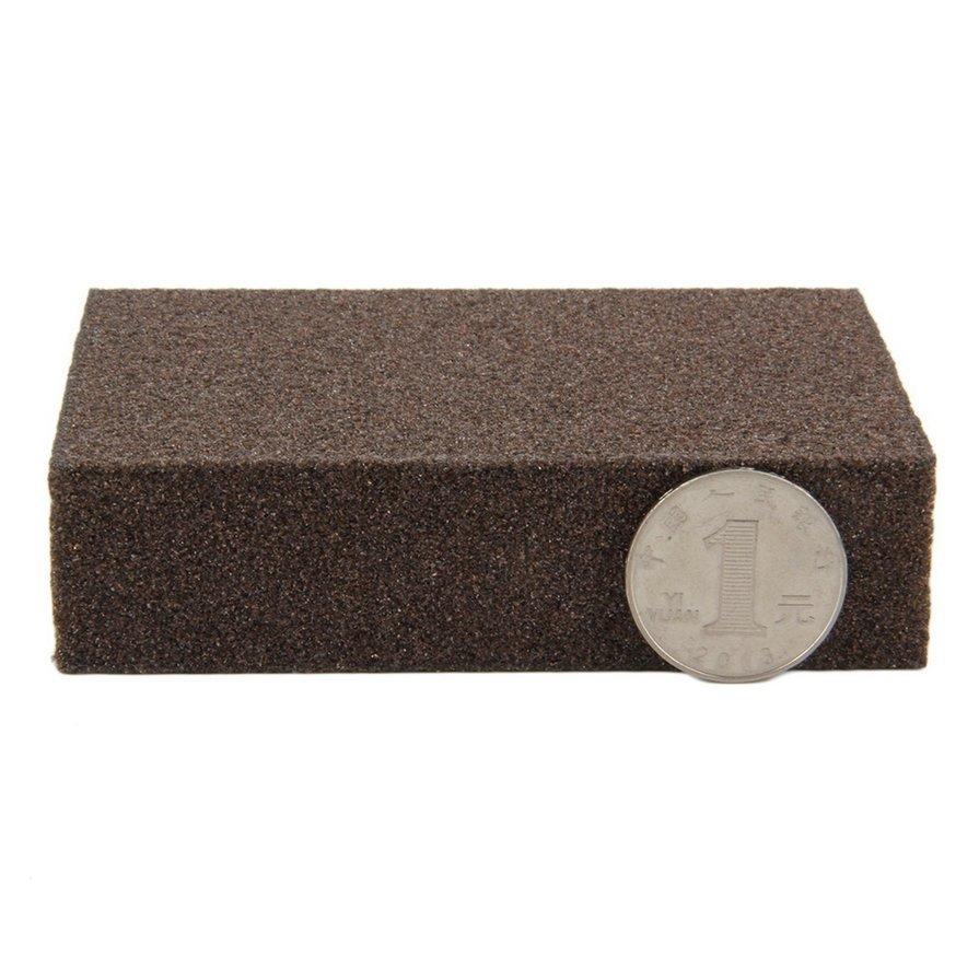 Sponge Carborundum Brush Kitchen Washing Cleaning Kitchen Cleaner Tool New #~