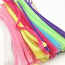 100pcs DIY Handmade Educational Shilly Stick Plush Materials Toys For Children S