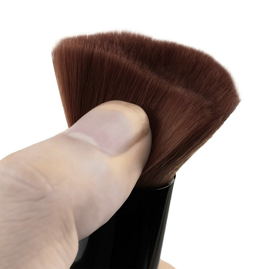 5pcs Wood Handle Makeup Brushes Set Cosmetics Foundation Blending Brush Kits HH