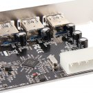 4 Port 5Gbps Superspeed USB 3.0 PCI-E PCI Card Adapter for XP Vista Win7 HS
