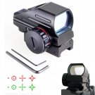 Tactical Red Green Dot Holographic Sight 4 Reticle Reflex for Outdoor H5