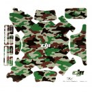 Forest Camouflage PVC Decal Skin Sticker For Phantom 3 Copter Controller HP
