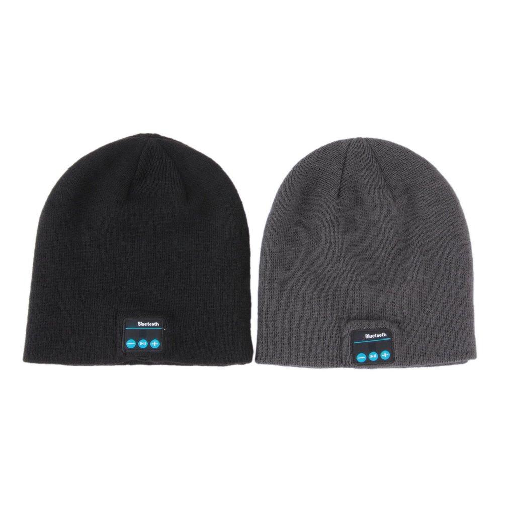 Soft Warm Hat Wireless Bluetooth Smart Cap Headset Headphone Speaker Mic HS
