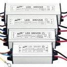 LED Driver High Power supply AC 110-265V 50/60HZ 10W 20W 30W 50W Waterproof #~