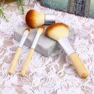 4Pcs Earth-Friendly Bamboo Elaborate Makeup Brush Sets #&