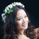 Flower Garland Floral Bridal Headband Hairband Wedding Prom Hair Accessories HS