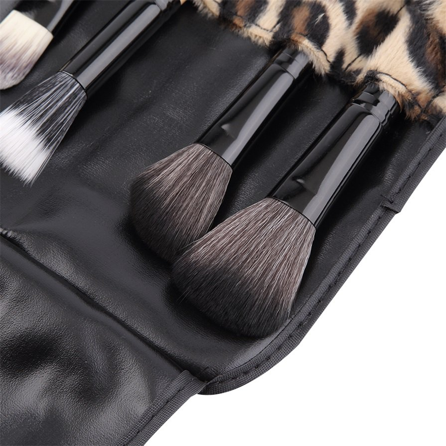 15 Colors Concealer Cream Contour Palette 12 Leopard Brushes 1 Puff Set #*