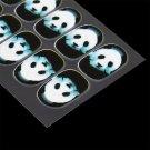New 6 Styles Full Cover Nail Wraps Luminous Animal Polish Nail Art Stickers #R