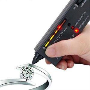 Diamond Gemstone Gems Jewelry Tester Selector Tool LED Audio Portable #h