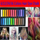 6 colors hair pins hair dyeing hair color chalk crayon CA
