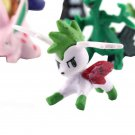 24pcs Mini Cute Monster Figure Toy Doll Collection Gift Cake Top Decoration HH