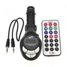 4in1 Car MP3 Player Wireless FM Transmitter Modulator USB SD CD MMC Remote HS