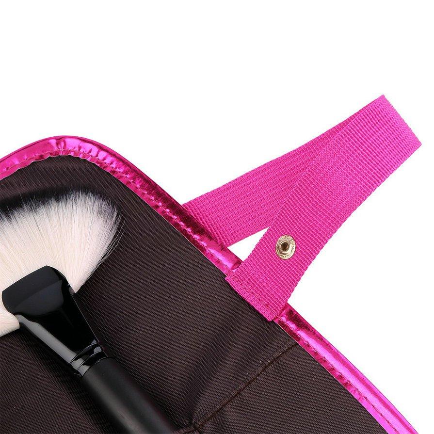 32 pcs Professional Cosmetic Makeup Brush Set Kit Brushes&tools Make Up Case HH
