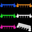 Bathroom Kitchen Livingroom Towel Hanger Wall Sucker Cup Shelves Rack Holder  H5