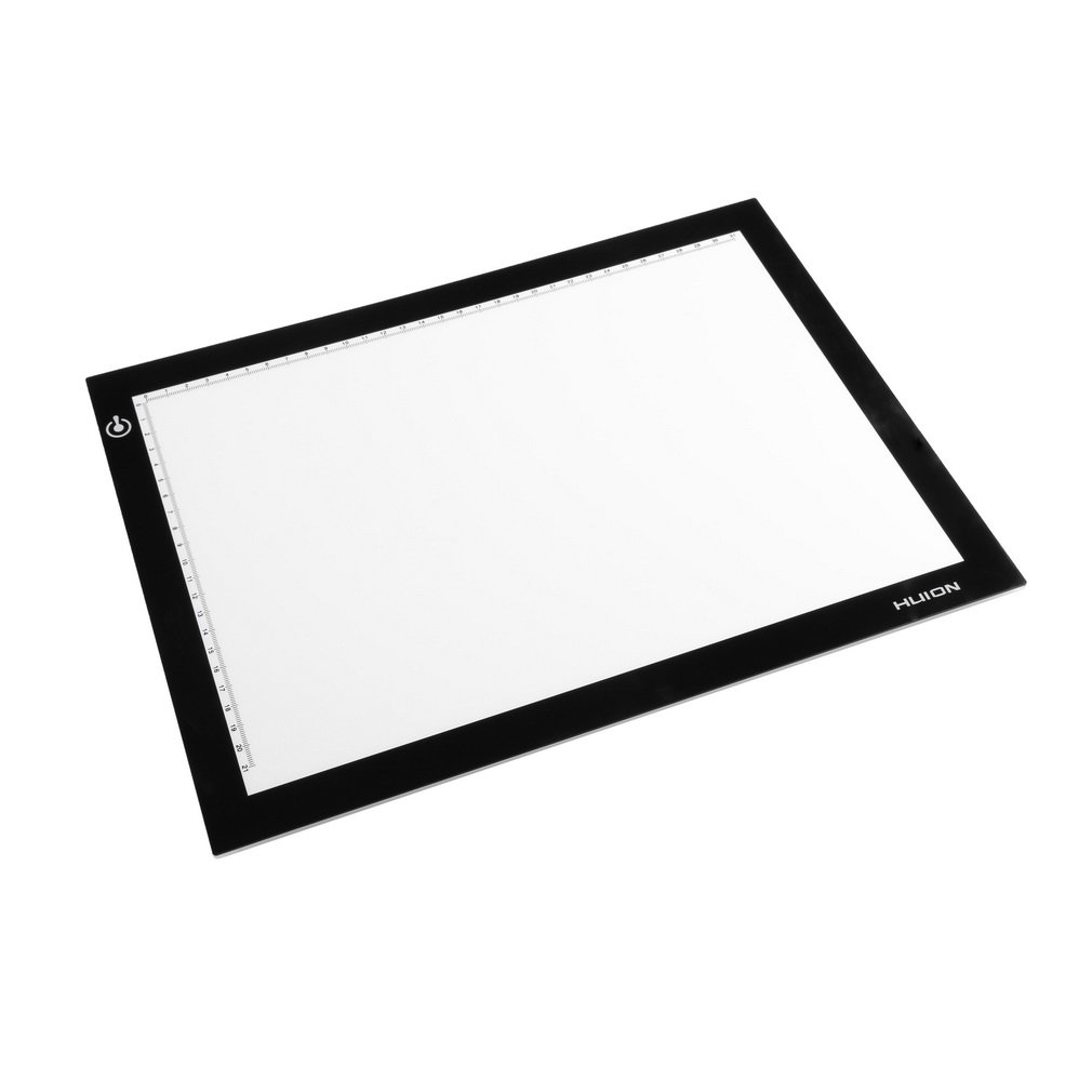 Huion A4 Ultra Thin LED Animation Drawing Stencil Board Table Pad Light Box H7