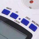 EU Plug Energy Meter Watt Volt Voltage Electricity Monitor Analyzer Power HS