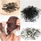 300pcs Rubber Hairband Rope Ponytail Holder Elastic Hair Band Ties Plaits #D