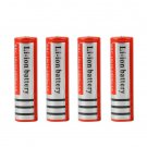 4pcs 18650 5000mAh 3.7V Li-ion Rechargeable Battery + Smart Charger EU Plug HH
